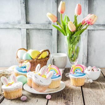 Cupcakes di pasqua fatti in casa carino