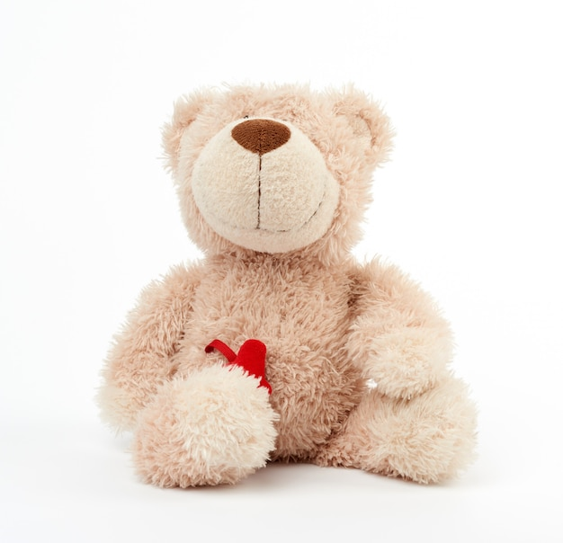 Simpatico orsacchiotto beige
