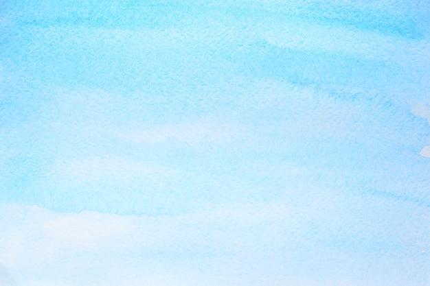 Fondo astratto dell'acquerello blu ciano con struttura di carta. illustrazione raster