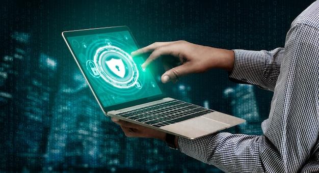 Cyber security e concetto di protezione dei dati digitali