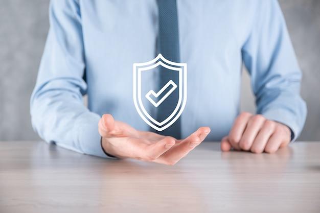 Rete di sicurezza informatica. icona del lucchetto e rete di tecnologia internet.