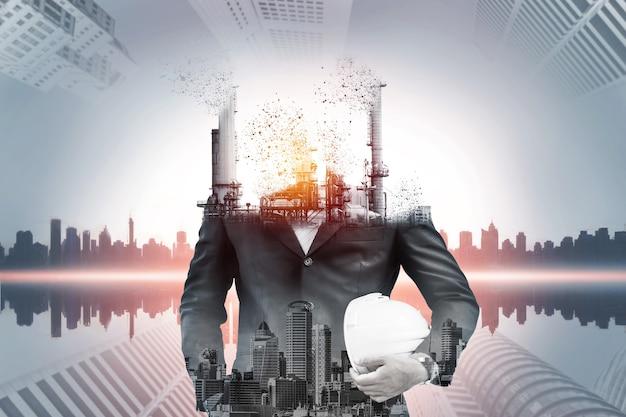 Pericolo di inquinamento atmosferico dovuto all'energia convenzionale.