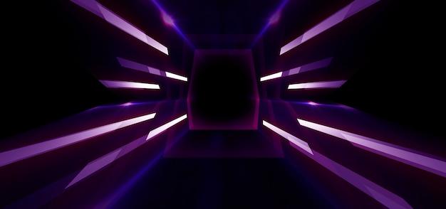Sfondo futuristico astratto scuro
