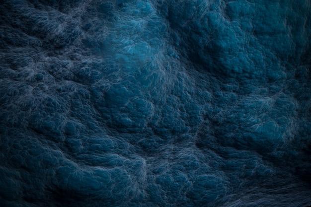 Sfondo blu scuro sotto forma di nuvole astratte superficie d illustrazione