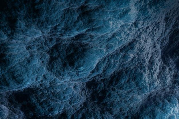 Sfondo blu scuro sotto forma di nuvole, superficie astratta.