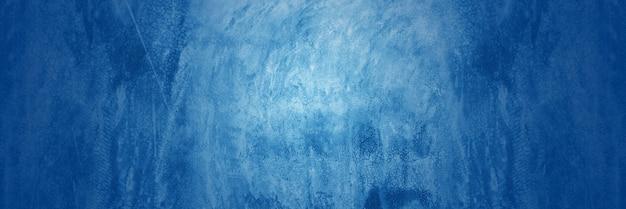 Cemento blu scuro e sovrapposizione sul fondo della lavagna