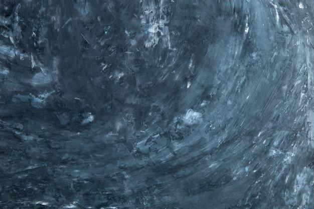 Priorità bassa concreta blu scuro, parete con struttura, preparazione per il disegno. copia spazio.