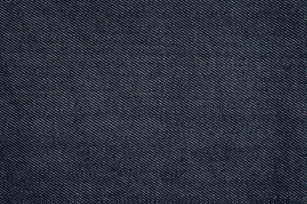Fondo di struttura dei jeans blu scuro.