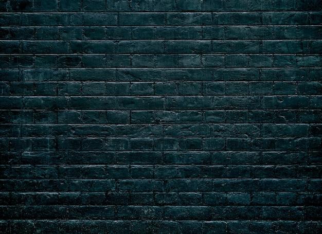Sfondo di muro di mattoni scuri texture.