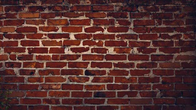 Priorità bassa di struttura del muro di mattoni scuri