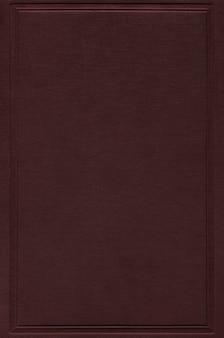Mockup di copertina del libro marrone scuro