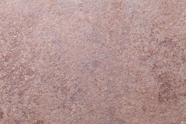 Sfondo trama marrone scuro con motivo di metallo arrugginito usurato. vecchia superficie in acciaio grunge.