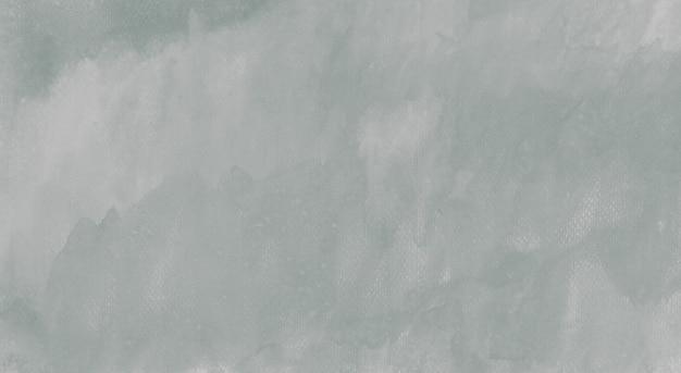 Acquerello pastello d'argento verde grigio scuro disegnato a mano su fondo astratto di struttura di carta