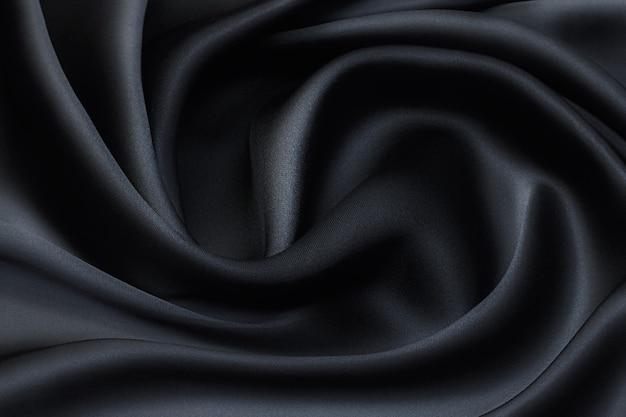 Tessuto di seta di colore verde scuro