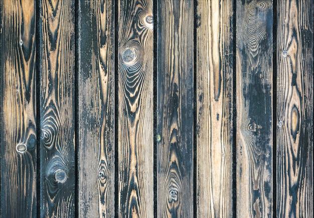 Fondo di legno scuro, vecchia struttura di legno.
