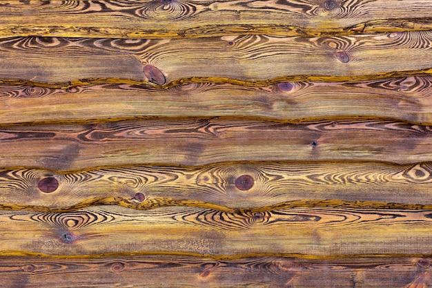 Priorità bassa di struttura della parete in legno scuro