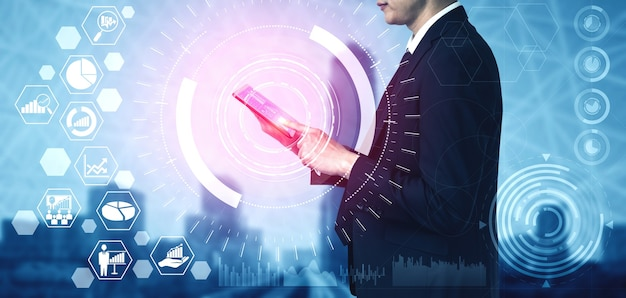 Analisi dei dati per il concetto di affari e finanza