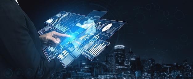Analisi dei dati per il concetto di business e finanza