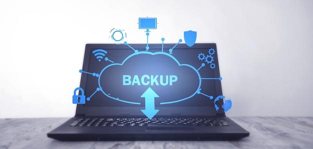 Download del backup dei dati dal cloud