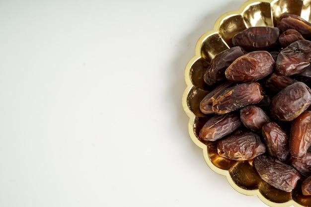 Primo piano della frutta delle date