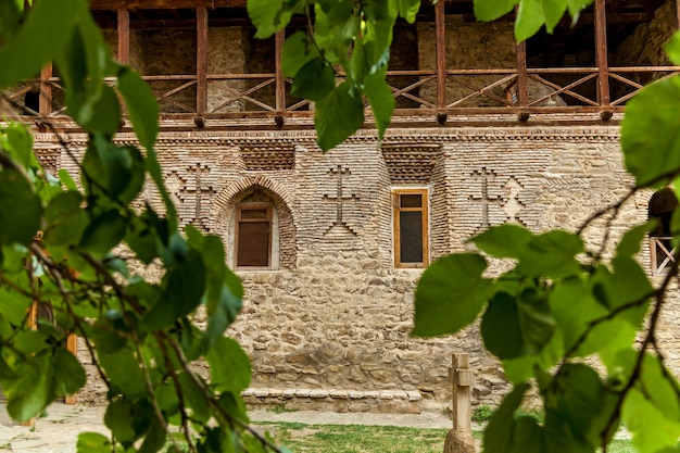 Monastero di david gareja. l'antico complesso monastico ortodosso georgiano