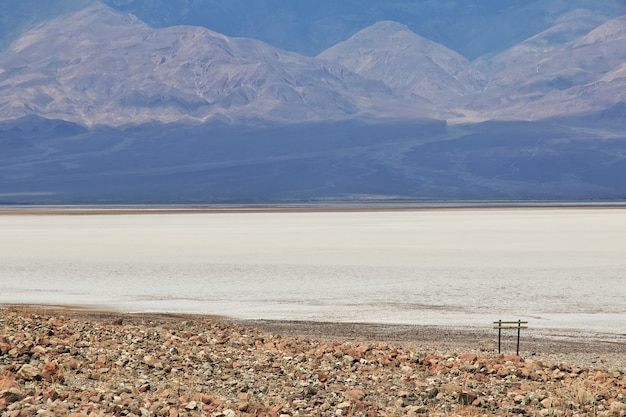 Parco nazionale della valle della morte in california degli stati uniti