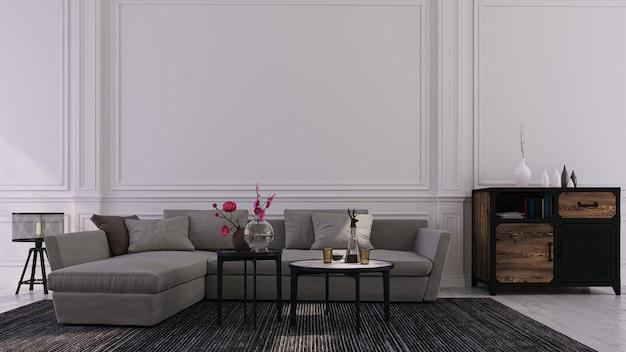 Sfondo decorativo per casa, ufficio e hotel. interior design moderno