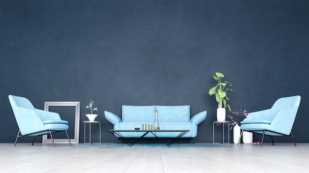 Sfondo decorativo per casa, ufficio e hotel. interior design moderno del salone e fuoco sui dettagli interni.