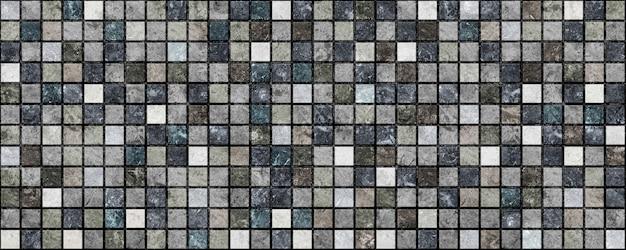 Piastrelle scure decorative con motivi e texture di pietra naturale. elemento per l'interior design