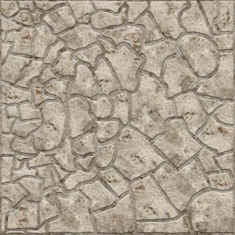 Piastrelle decorative in rilievo con struttura in pietra naturale. trama di sfondo.
