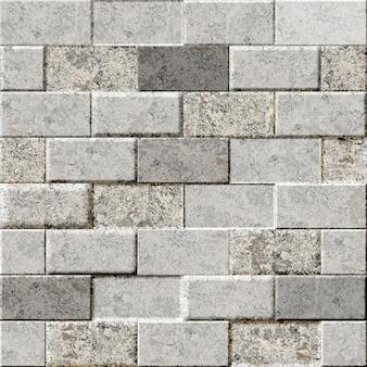 Muro di mattoni in pietra decorativa. piastrelle per l'interior design. trama di sfondo