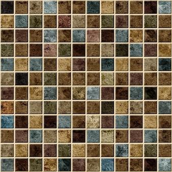 Piastrelle decorative con struttura in pietra naturale. mosaico. trama di sfondo