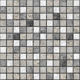Piastrelle decorative con struttura in pietra naturale. mosaico. elemento per l'interior design. trama di sfondo