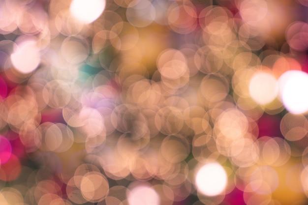 Luce rosa morbida di natale di lusso del bokeh defocused