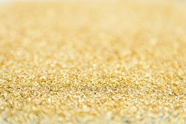 Sfondo sfocato glitter dorato