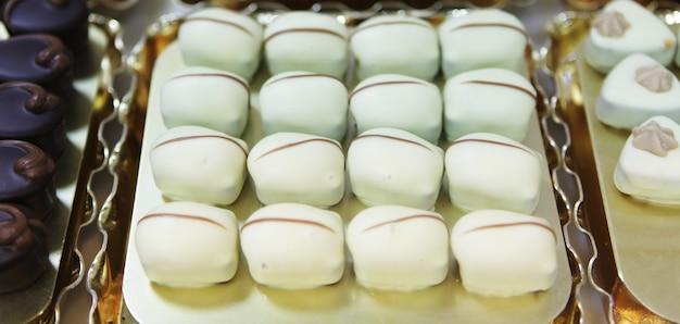 Deliziose praline al cioccolato