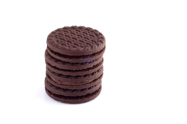 Deliziosi biscotti o biscotti alla crema