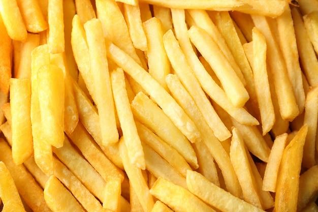 Deliziose patatine come sottofondo