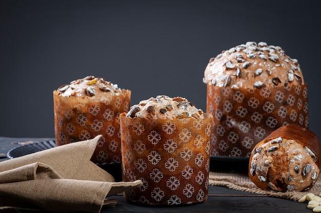 Delizioso panettone artigianale a fermentazione naturale.