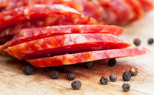 Carne deliziosa con spezie