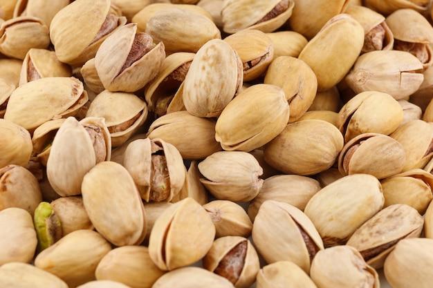 Primo piano delizioso dei pistacchi