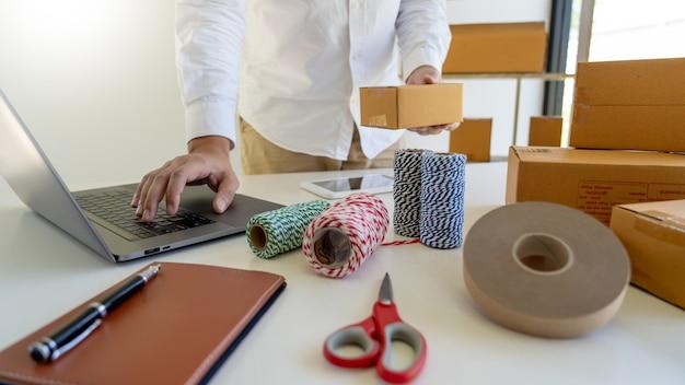 Scatola di imballaggio per lavoratori di piccole e medie imprese (pmi)