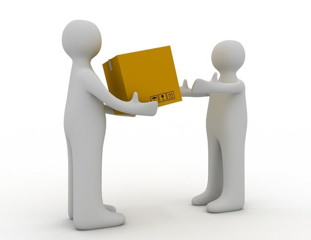 Concetto di consegna