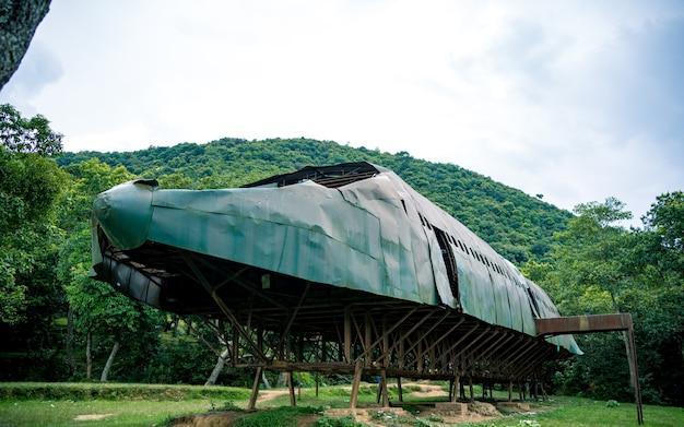 Aeroplano demo costruito per l'addestramento dell'esercito bhaktapur nepal
