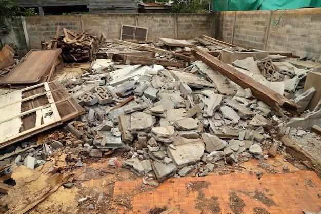 Edificio demolito