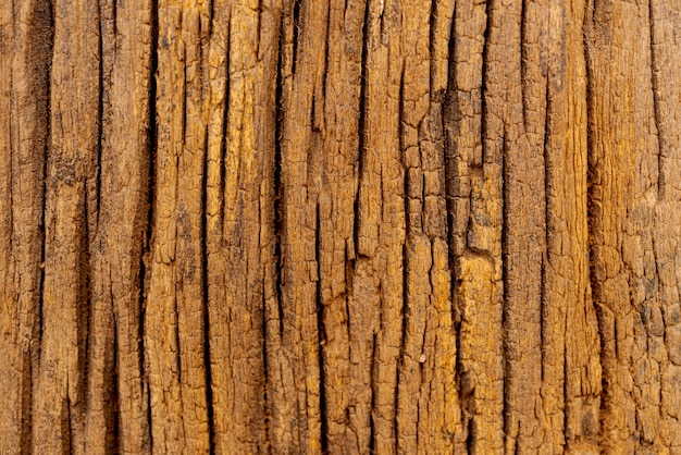 Struttura di legno di demolizione;