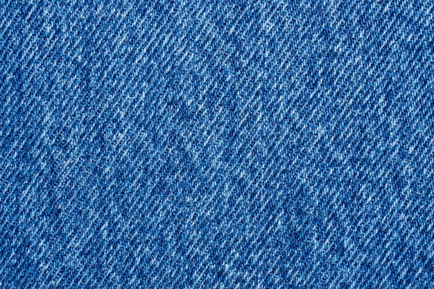 Denim blue jeans texture close up sfondo vista dall'alto