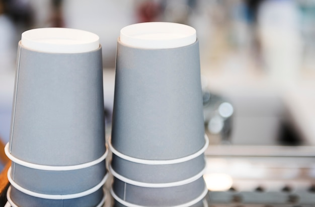 Progettare lo spazio sulla tazza di caffè