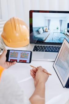 Designer ristrutturazione casa dei clienti