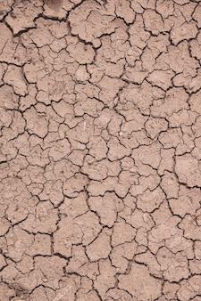 Fondo del suolo da dessert, cambiamento climatico, riscaldamento globale